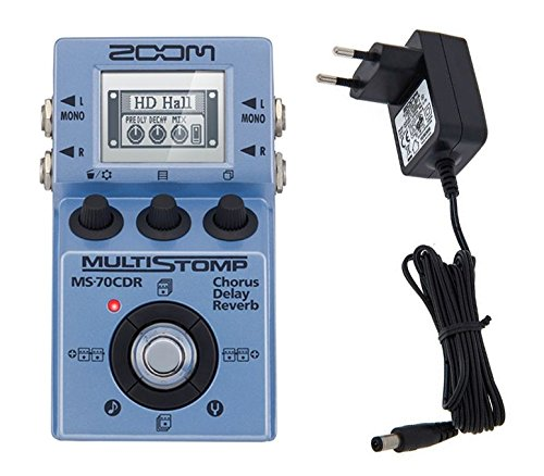 Zoom MS 70CDR Multistomp con Alimentatore