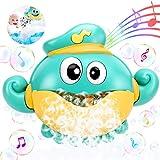 joylink Máquina de Burbujas de Baño, Ducha de Niños Baño de Burbujas Juguetes bebé Maquina de Burbujas 12 Música para Ducha de Niños Baño de Burbujas Ideales Burbuja de Baño Juguetes para Niños