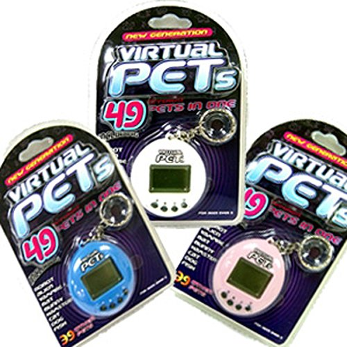 Virtual Pets LC6000 Key Chain Colours May Vary