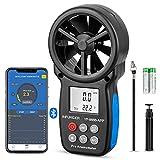 Anemometro Digitale INFURIDER con APP Tramite Bluetooth, Anemometro Portatile YF-866APP In...