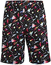 Lacrosse Shorts with 80s Mathbook Pattern