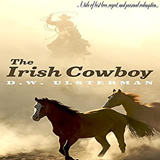 The Irish Cowboy audiobook cover art