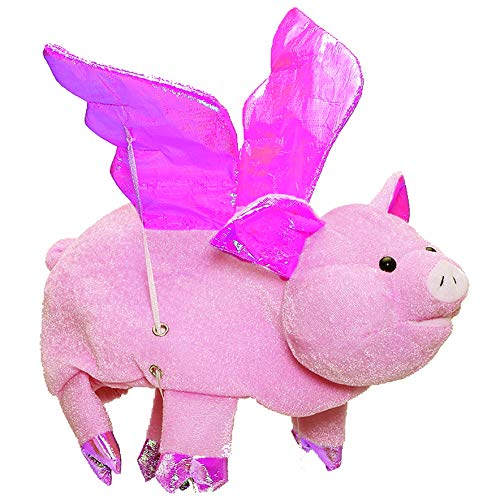 Tigerdoe Pig Hat - Flapping Wings Hats - Animal Hats - Farm Theme Party - Costume Hats