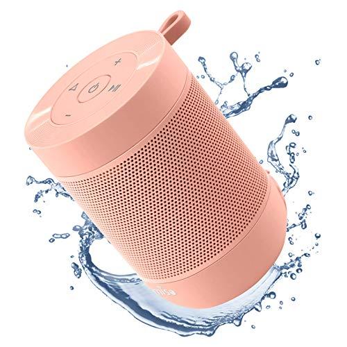 bocina rosa de la marca COMISO