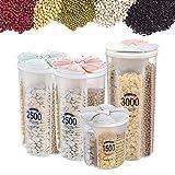 XGG Vorratsdosen für Lebensmittel Vorratsbehälter mit Luftdichtem Deckel...
