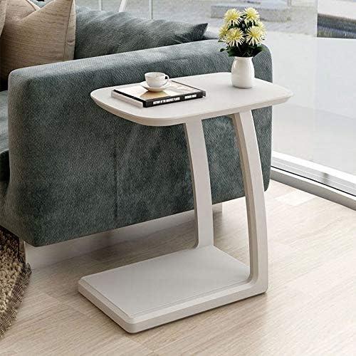 varios tamaños AFDK Mesa de noche de madera maciza Sofá Mesa Mesa Mesa Esquina Mesa de café Pequeña extraíble Pequeña habitación, 52X36X57Cm,blanco  mas barato