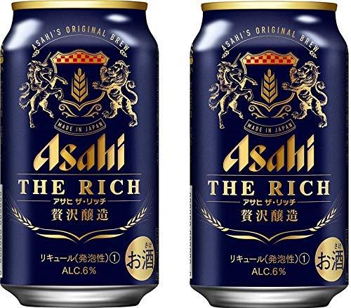 ビール 新ジャンル アサヒ ザ・リッチ 350ml 24本 2ケース