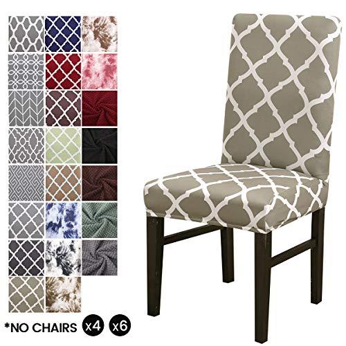 Cubierta para silla LiveGo, paquete de 4 cubiertas para silla de comed