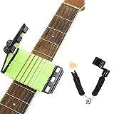 Nettoyeur de Cordes pour Guitare, Instrument de maintenance pour outil de nettoyage de cordes de guitare Entretien du nettoyeur de cordes pour guitare / basse / mandoline / ukulélé