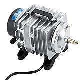Rockyin Acuario electromagnética oxígeno Bomba 18W 38L / min Se Utiliza for el Tanque de Pescados mariscos Pond 220V