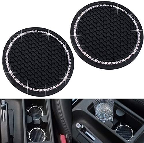 Universal Vehicle Bling Travel Auto Cup Holder Insert Coaster Car Interior Accessories 2 75 product image