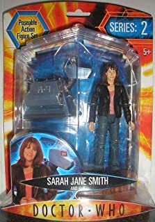 Character Options Doctor Who Series 2: Sarah Jane Smith and K-9 Action Figure Set