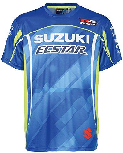 Suzuki MotoGP Kids Team T-Shirt Edelprint Ecstar Racing (L (9-11 Jahre))