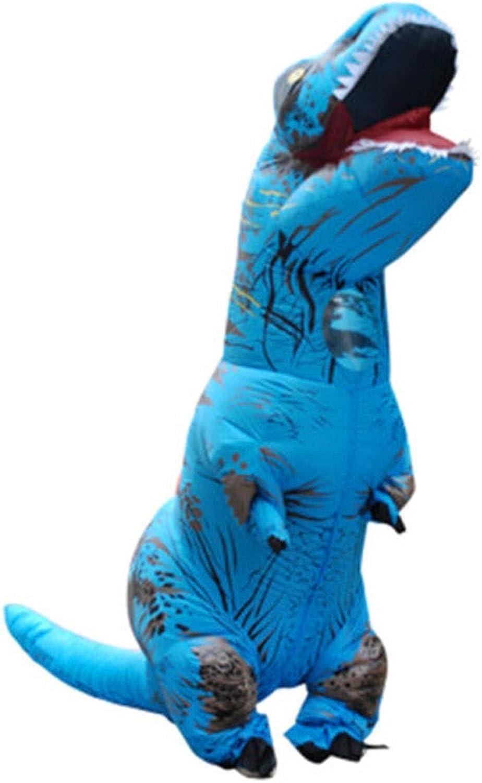 popular 8HAOWENJU Dinosa inflable, Dinosaurios inflables, Traje de dinosaurio dinosaurio dinosaurio inflable, Traje de dinosaurio de Halloween, Tyrannosaurus Tyrannosaurus Traje inflable CosJugar Fiesta Fiesta Celebración Celebraci  Descuento del 70% barato