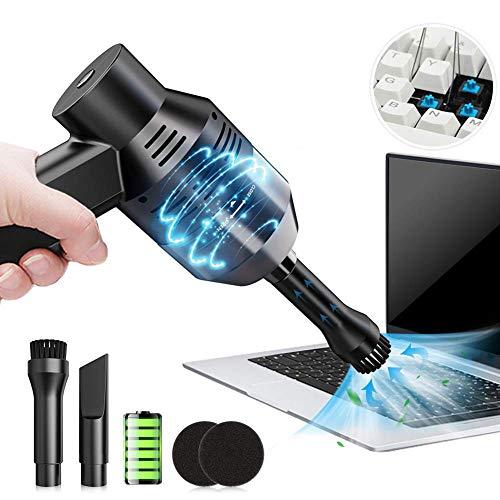 Queta Mini Staubsauger. USB Kabelloser Staubsauger, Auto Mini Handstaubsauger. Tastatur Desktop leistungsstarke Staubsauger Wireless-Version (eingebauter Akku kann aufgeladen werden)