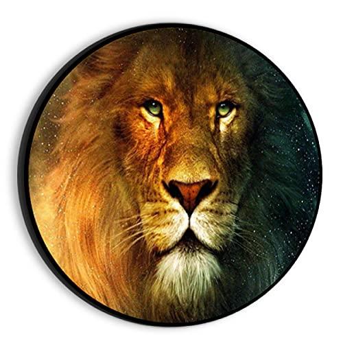 JHGAA Rompecabezas de 1000 Piezas Rompecabezas de fotografía de león Rompecabezas de 1000 Piezas 67.5x67.5cm
