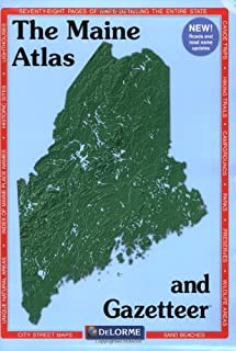 Maine Atlas & Gazetteer (Delorme Atlas & Gazetteer)