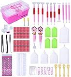 121pcs Diamond Painting Tools, Diamond Painting Accessories, Diamond Embroidery Storage Box for Craft