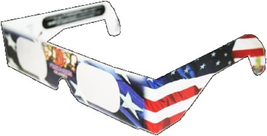 3D July Fourth Fireworks Charlotte Mall Glasses We OFFer at cheap prices See Design Patriotic Flag Star