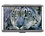 Scatola delle sigarette, scatola delle sigarette per il trasporto della tasca del leopardo del gatto leopardo delle nevi