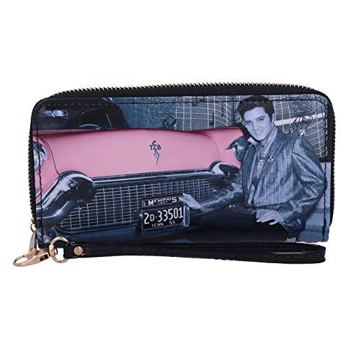 Nemesis Now Elvis Cadillac Damen-Geldbörse, Pink, Rose, 19 cm