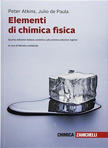 Elementi di chimica fisica. Con e-book