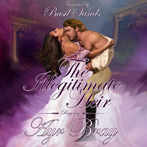 The Illegitimate Heir audiobook cover art