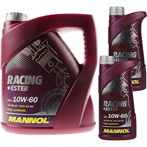 MANNOL 4 + 2 (6 Liter) Racing+Ester 10W-60 MOTORÖL