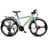 GAOTTINGSD Bicicleta de montaña MTB Camino de la Bicicleta Bicicletas de montaña de la Bici Adulta de Velocidad Ajustable for Hombres y Mujeres de 26 Pulgadas Ruedas Doble Freno de Disco