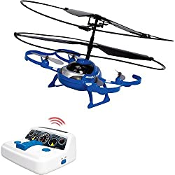 Built to last with durable construction with crash resistance build absorbing any hits and bumps Suitable for children as young as 4, operated with just 4 buttons Once air born an auto hover feature ensures that the drone remains steady in the air av...