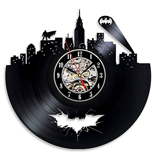 Batman pared vinilo Record decoración de hogar sala arte moderno al estilo vintage