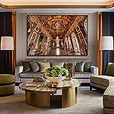France Versailles château Affiche Toile Peinture Affiches Impressions rétro Mur Art Photo Nordique décoration de la Maison 50x70cm sans Cadre