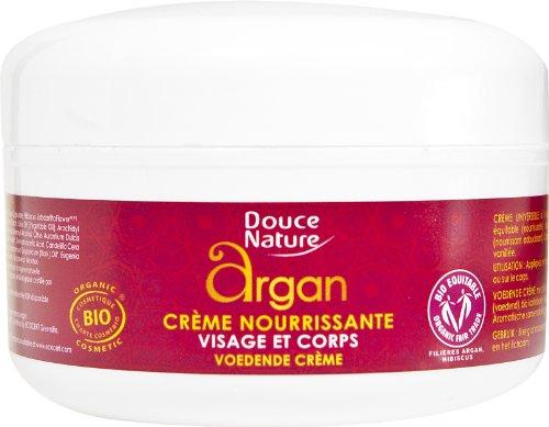 Crème nourrissante Huile d'argan et beurre de karité bio
