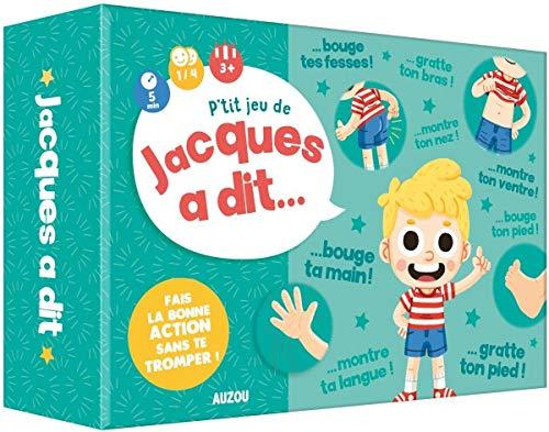Editions AUZOU - P'tit Jeu de Jacques a Dit - Fais La Bonne Action sans te Tromper