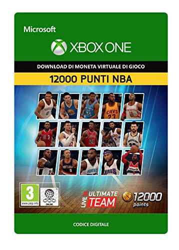 NBA Live 16: LUT 12000 NBA Points Pack  | Xbox One - Codice download