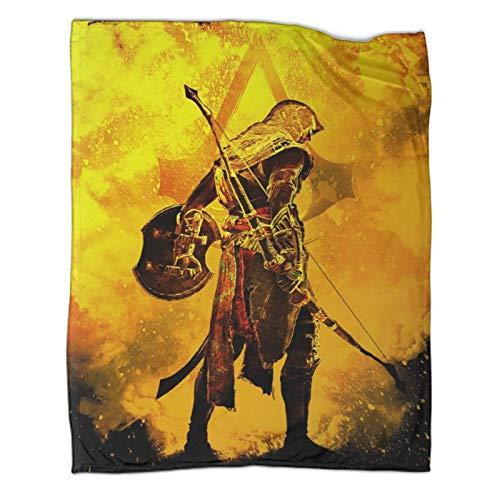 Soul of Bow And Arrow Shield - Mantas personalizadas, 130 x 180 cm, ligeras, súper suaves, cómodas para cama, sofá o silla