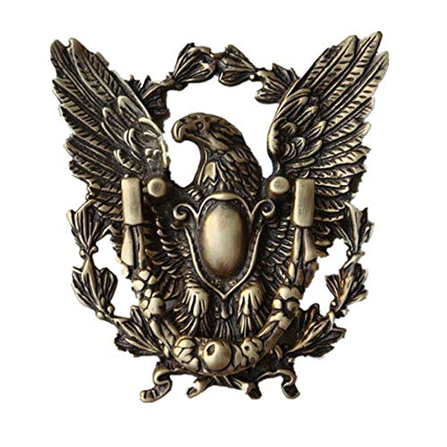 Cast Iron American Eagle Solid Brass for Country Cottage Patio Courtyard Townhouse Manor Front Door Hardware Accessories Decoration Cast Iron Doorbell Decoration
