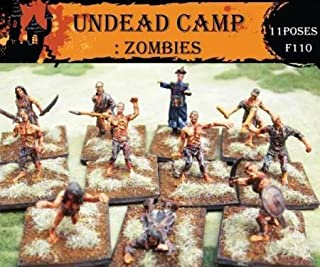 Fantasy Series: Undead Camp Zombies (Caesar Miniatures) - 1/72 scale