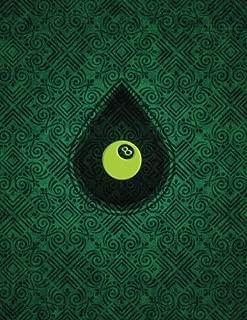 Monogram Pocket Billiards (Pool) Sketchbook: Blank Art Pad Notebook Journal (Monogram Chartreuse 150 Sketch) (Volume 63)
