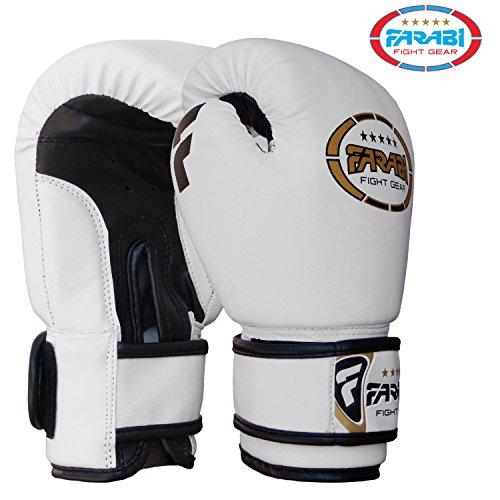FARABI Gants de Boxe Enfants - MMA, Muay-thaï, Kickboxing, entraînement sur Sac de Frappe - 113,4...