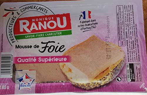 Original französische Pastete -Mussee de FOIE-Superieure (gänseleber)- 2 x 188gr