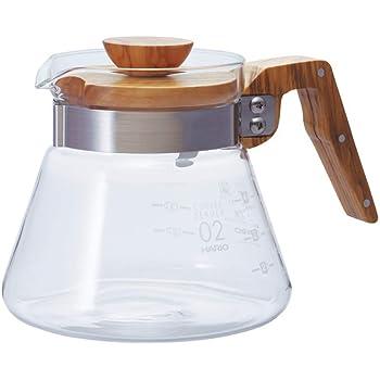 HARIO(ハリオ) コーヒーサーバー600 オリーブウッド 実用容量600ml VCWN-60-OV