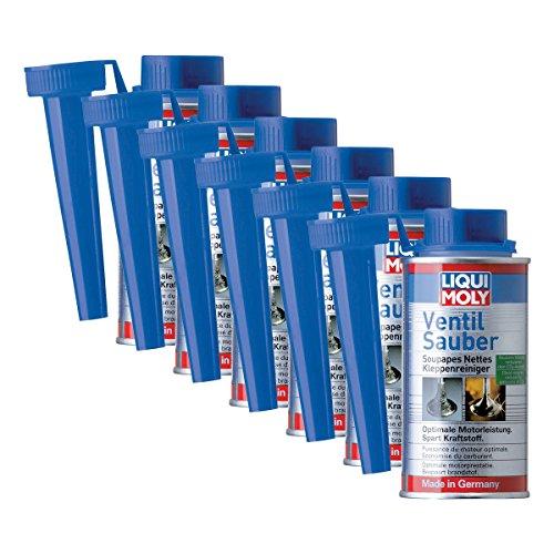 6x LIQUI MOLY 1014 Ventil Sauber Reiniger Schutz Additiv Benzin 150ml