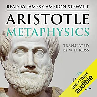 Metaphysics audiobook cover art