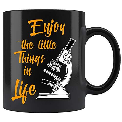 Funny Biology Biologist Microscope Laboratory Coffee Mug 11oz Tea Cup
