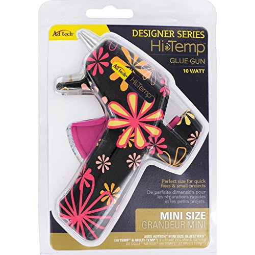 Adtech High Temp Minu Glue Gun Daisy, Mini, Black Daisey