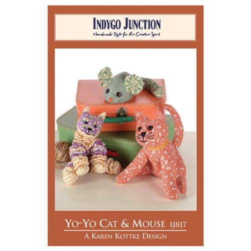 Indygo Junction Pattern Packs-Yo-Yo Cat & Mouse