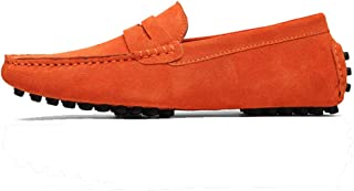 Cosplay-X Men Loafer Slip-on Shoes Genuine Leather Fashion Driving Boat Casual Walking Performance Dress Shoes