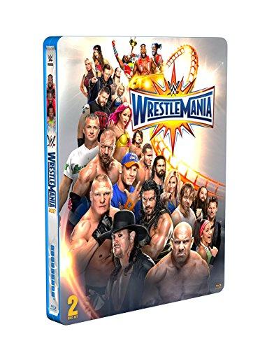 WWE: WrestleMania 33 [Blu-ray Limited Edition Steelbook] [UK Import]