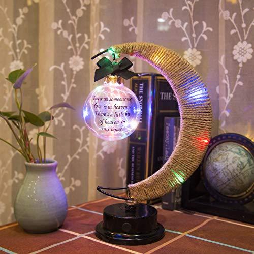 Mayamila Sympathy Gifts Memorial Moon Lamp Gifts in Memory of Loved...